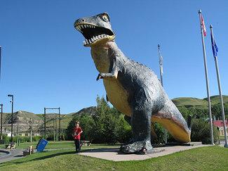 Drumheller dinosaurs 19