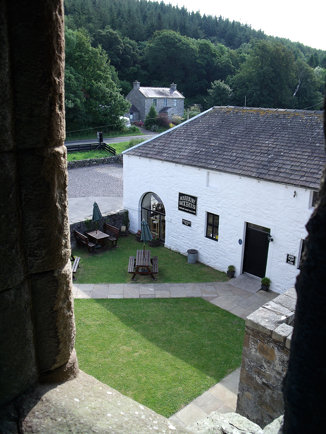 Marrbury Smokehouse, seen from Carsluith Castle