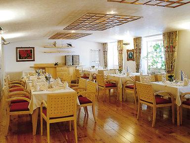 Speisesaal Hotel Ischgl