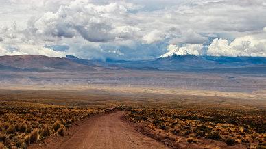 Altiplano landscape – Lauca National Park, Chile