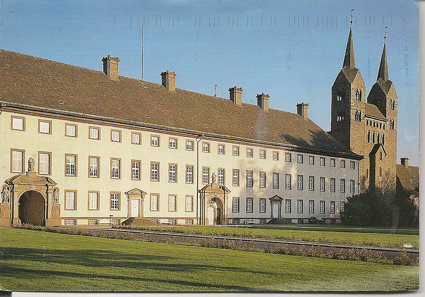 Kloster Corvey  Abbey Postcard