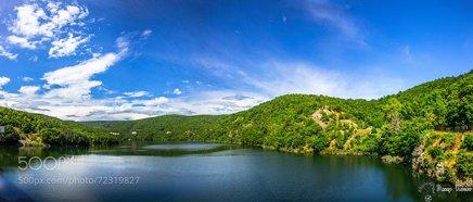 Panorama Photo Ivaylovgrad Dam