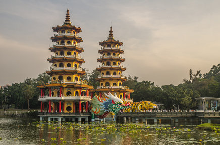 Dragon and Tiger Pagodas 2