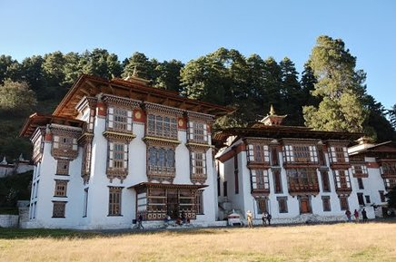 Kurjey Lhakhang Monastery, Jakar, Bhutan