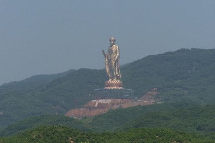 World's Tallest Buddha 153 Meters - Made of Copper