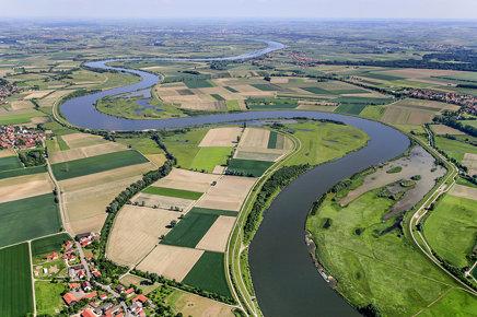 River Danube Near Aholfing