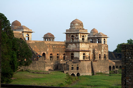 Jahaz-Mahal from the back