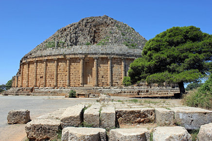 Tipaza - Royal Mausoleum