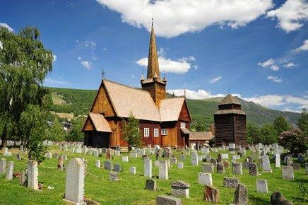 Vågå kirke fra omkring 1625