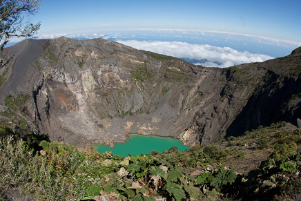 Main Crater (with acid lake)