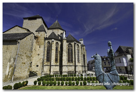 cathedral, Oloron-Sainte-Marie, France