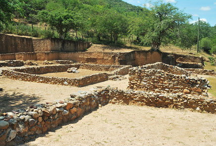 """Zona Arqueológica """"Teopantecuanitlán""""."""