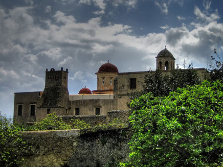 Monasterio de Gonia, Kolymbari (Creta)