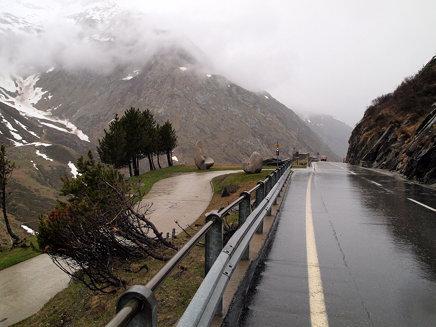Schweiz 2012 - Lukmanier: da kam ich her
