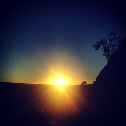 Papagaios sunset #sunset #pordosol #papagaios #minasgerais #mg
