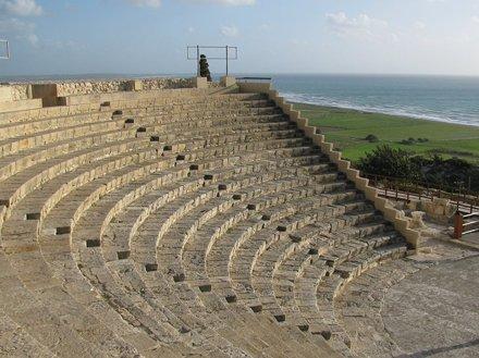 Kourion (Limasol) - Greek theatre