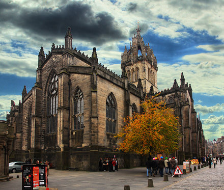 St Giles Cathedral, Edinburgh.