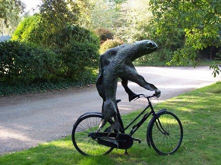 Fish on Bike, Cass Sculpture Park
