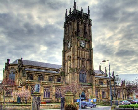 Leeds Parish Church HDR
