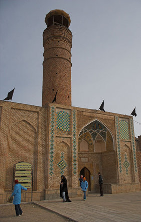 Family visit to imamzadeh.