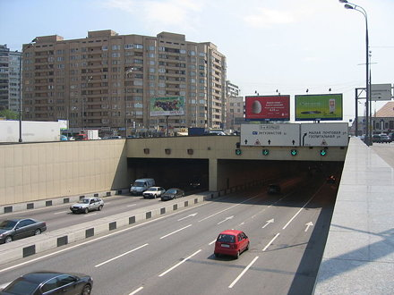 Lefortovo tunnel