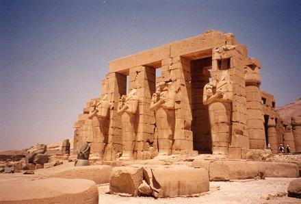 Ramesseum near Luxor