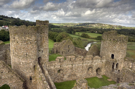 Kidwelly Castle HDR