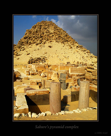 Abusir, Sahure's pyramid complex