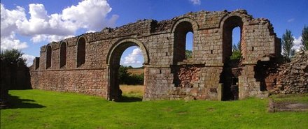 Remains of White Ladies Priory