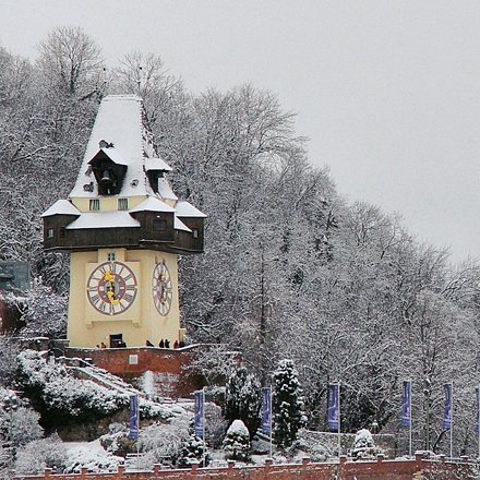 Winter in Graz