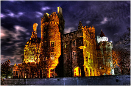 CASA LOMA at Night