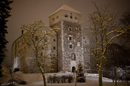 Turku Castle  in winter