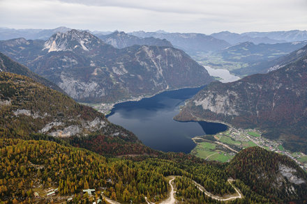 The View from Five Fingers, Dachstein Salzkammergut, Austria.