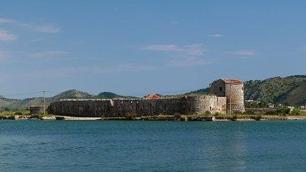 15thC Venetian triangular fortress, Butrint, Albania