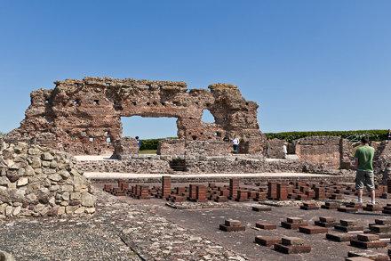 Wroxeter Roman City - Baths