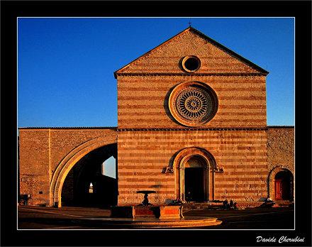 Assisi Santa Chiara @ Sunset