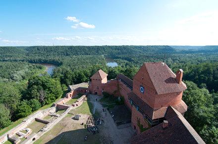 il castello di Turaida