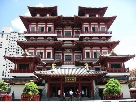 pagoda reliquia del dente di buddha