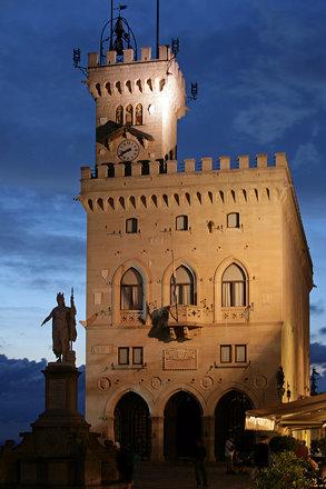 Il Palazzo Pubblico di San Marino
