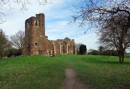 St Mary's Old Church - Clophill