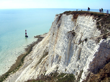 people at beachy head