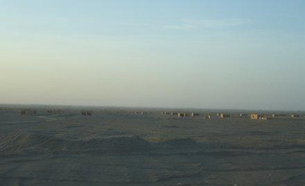 废弃的移民定居点