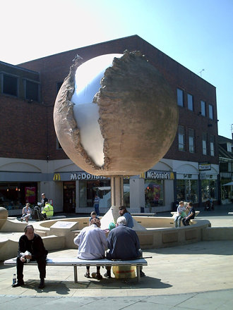 Horsham Globe Sculpture