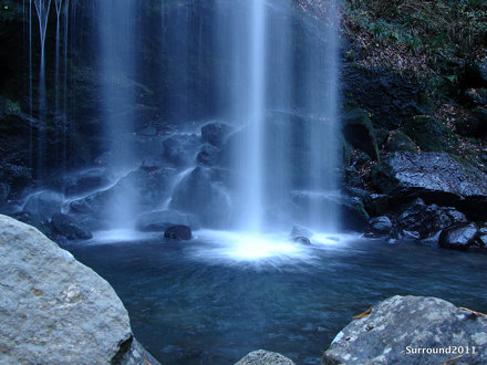 Waterfall of Sunset 夕日の滝