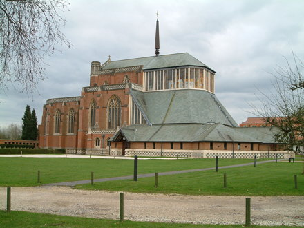 Douai Abbey - completed