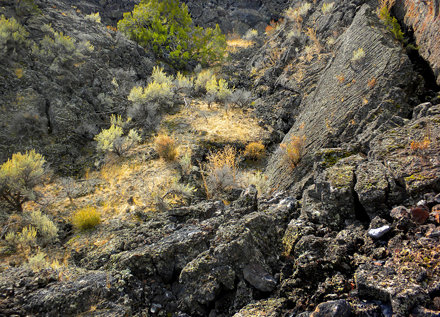 Hell's Half Acre Lava Field