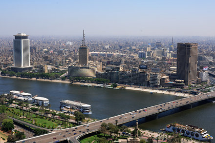 Cairo from Cairo Tower