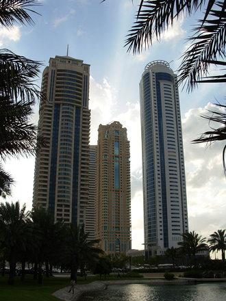 Clouds over Dubai