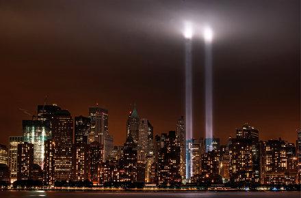 9/11/11: Tribute in Light
