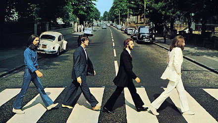 Best Album Art of All Time - The Beatles Abbey Road
